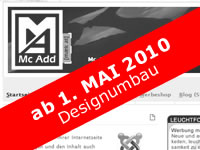 Mc Add - Mc Add Relaunch - NEU - MODERN - AKTUELL