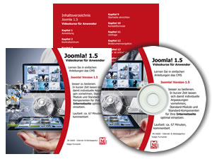 Mc Add - Joomla! 1.5 Videokurse auf DVD